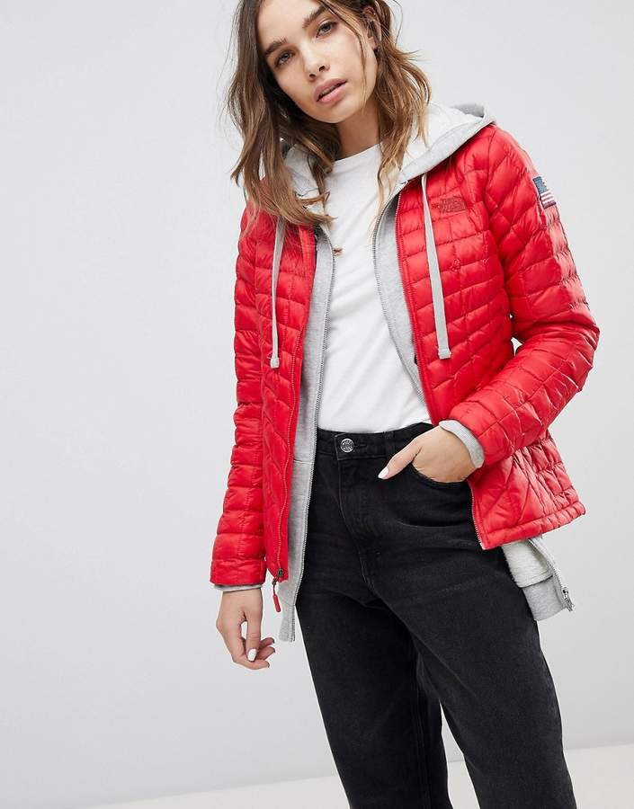 International – Thermoball – Rote Jacke