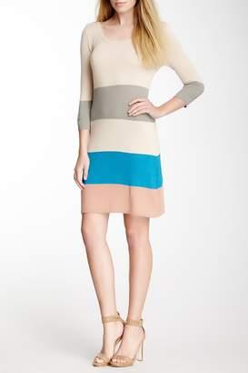 Vertigo Colorblock Sweater Dress