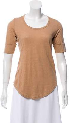 Etoile Isabel Marant Linen Short Sleeve Top