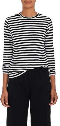 Barneys New York Women's Striped Tissue-Weight Cotton T-Shirt