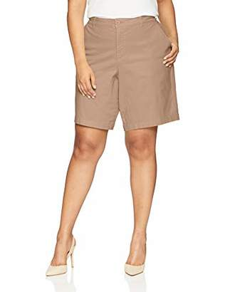 NYDJ Women's Plus Size Bermuda Short
