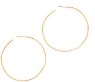Gorjana Harbour Hoop Earrings $60 thestylecure.com