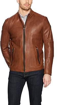 HUGO BOSS BOSS Orange Men's Jeeper Biker Jacket Slim Fit