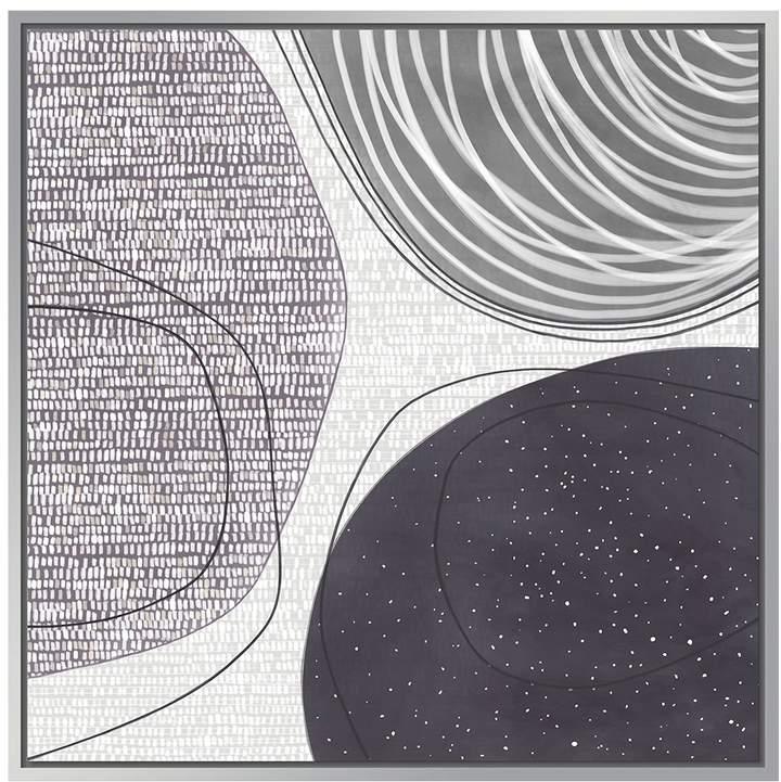 Jonathan Bass Studio Overlapping II (Framed Canvas)