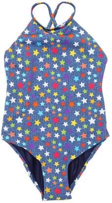 MC2 Saint Barth Star Rainbow Lycra One Piece Swimsuit