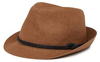 Levi's Knotted Band Straw Fedora