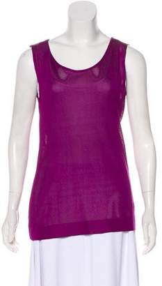 Alberta Ferretti Silk Sleeveless Blouse