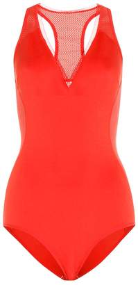 Stella McCartney Neoprene and mesh swimsuit