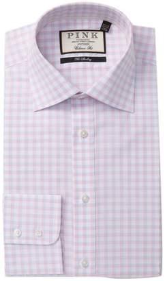 Thomas Pink Goodall Check Classic Fit Dress Shirt