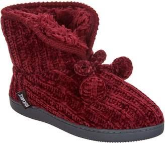 Muk Luks Chenille Taylor Slipper Boots