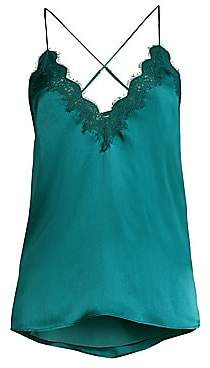 CAMI NYC Women's Everly Silk Lace Cami