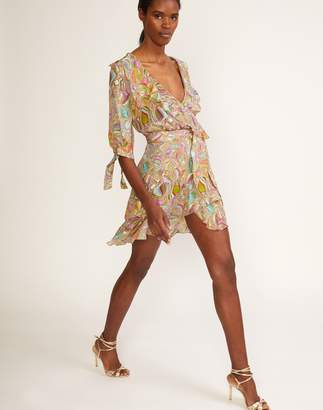 Cynthia Rowley Farra Wrap Dress