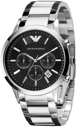 Emporio Armani Watch, Men's Chronograph Stainless Steel Bracelet AR2434