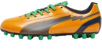 Puma Junior evoSPEED 5 AG Football Boots Orange/Black/Gecko Green