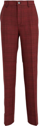 Ganni Samba Checked Suiting Trousers