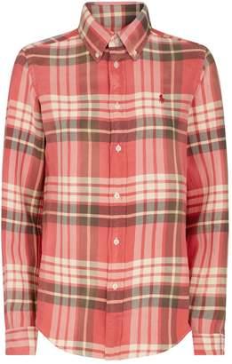 Ralph Lauren Check Polo Pony Shirt