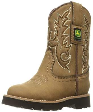 John Deere Kids' Chi PO Pull-on Boot