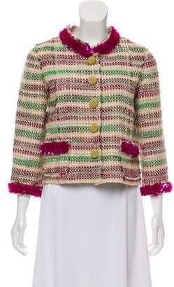 Marc Jacobs Sequin-Trimmed Tweed Jacket