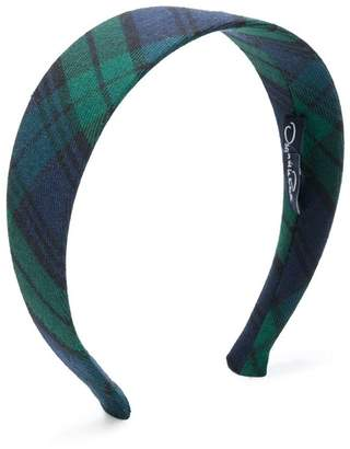 Oscar de la Renta Kids plaid head band