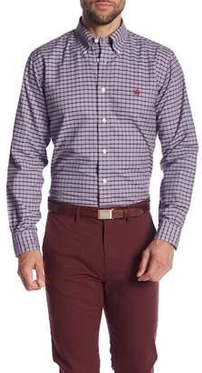 Brooks Brothers Multi Check Print Regent Fit Oxford Shirt