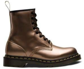 b88ce415df48 Dr. Martens Women s Vegan Metallic Chrome Boots