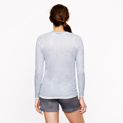 J.Crew Sparkle crewneck sweater