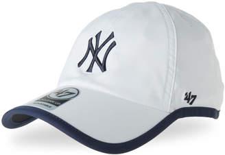 '47 White & Navy New York Yankees Clean Up Baseball Cap