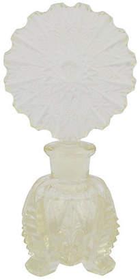 One Kings Lane Vintage Cut Crystal Perfume Bottle