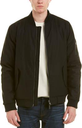 AG Jeans Arlo Reversible Bomber Jacket