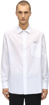 Off-White Off White Striped Classic Cotton Shirt