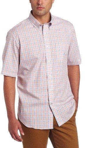 Nautica Men's Big-Tall Glen Plaid Shirt