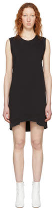 MM6 MAISON MARGIELA Black Sleeveless Sweatshirt Dress