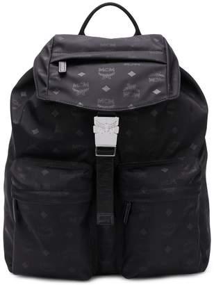 MCM medium two pocket Dieter backpack
