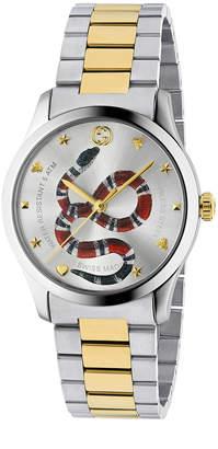 Gucci 38MM G-Timeless Snake Bracelet Watch