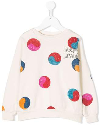 Bobo Choses Yin Yang sweatshirt