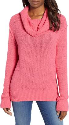 Caslon Cuff Sleeve Sweater