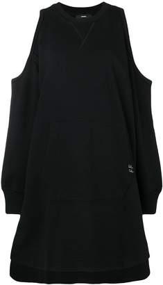 Diesel D-Ema cold-shoulder dress