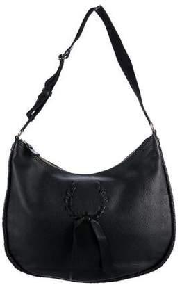 Nina Ricci Pebbled Leather Hobo Bag