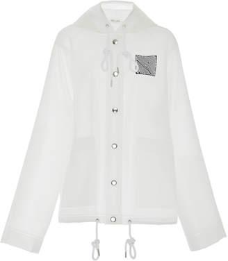 Proenza Schouler PSWL Back Logo Raincoat