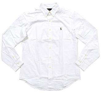 Ralph Lauren Polo Mens Stretch Oxford Slim Fit Sport Shirt