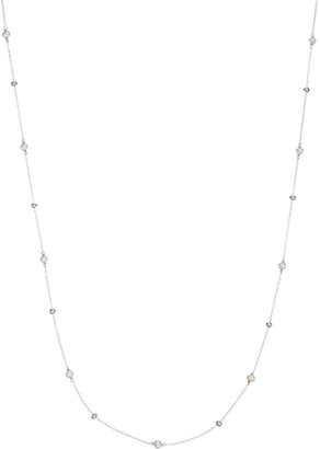 Sterling Silver Freshwater Cultured Pearl Beaded Long Necklace