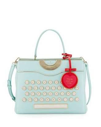 Kate Spade New York Be Mine Typewriter Satchel Bag, Multi $548 thestylecure.com
