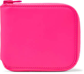 Acne Studios Kei Leather Zip-Around Wallet - Men - Pink