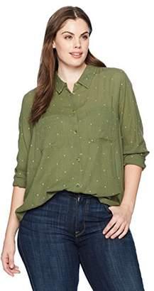 Lucky Brand Women's Plus-Size Shirt