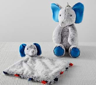 Pottery Barn Kids Preppy Plush Elephant
