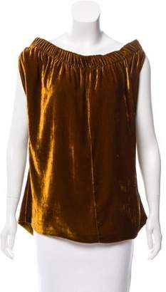 Zero Maria Cornejo Sleeveless Velvet Top w/ Tags