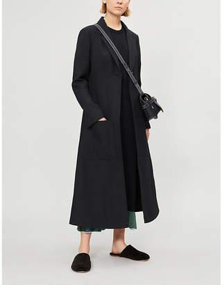 Loewe Botanical wool-blend coat