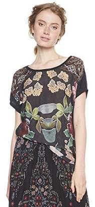Desigual Women's Ts_Casandra T-Shirt