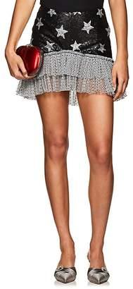 KALMANOVICH Women's Sequined Star-Motif Miniskirt