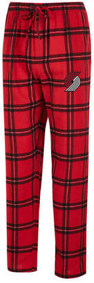 Concepts Sport Men's Portland Trail Blazers Homestretch Flannel Sleep Pants